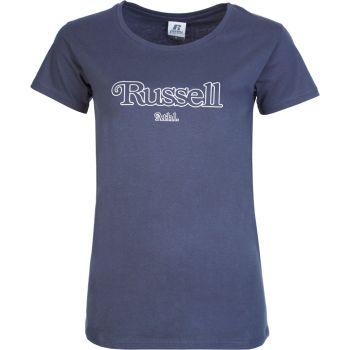 Russell Athletic VC - S/S CREWNECK TEE SHIRT, ženska majica, modra