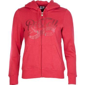 Russell Athletic EBV - ZIP THRU HOODY, ženska jopica, roza