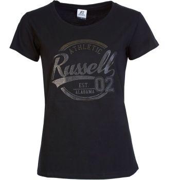 Russell Athletic EBV1 - S/S CREWNECK TEE SHIRT, ženska majica, črna