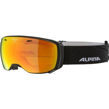 Alpina ESTETICA Q-LITE, smučarska očala, črna