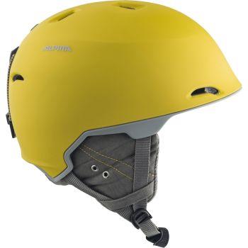 Alpina MAROI, smučarska čelada, rumena