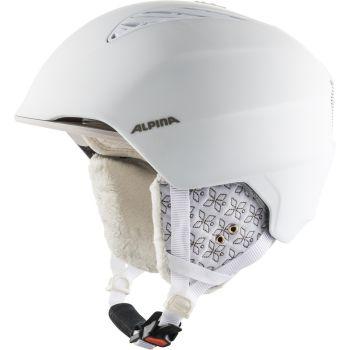 Alpina GRAND, ženska smučarska čelada, bela