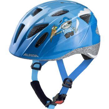 Alpina XIMO, otroška kolesarska čelada, modra