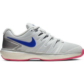 Nike W NIKE AIR ZOOM PRESTIGE HC, ženski tenis copati, bela