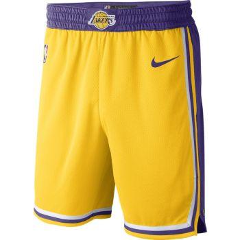 Nike LOS ANGELES LAKERS ICON EDITION NBA SWINGMAN SHORTS, moške hlače, bela