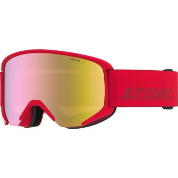 Atomic SAVOR STEREO, smučarska očala, rdeča