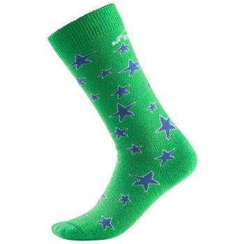 McKinley ASIO KIDS, otroške smučarske nogavice, zelena