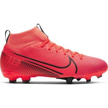 Nike JR SUPERFLY 7 ACADEMY FG/MG, otroški nogometni čevlji, rdeča