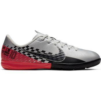 Nike JR VAPOR 13 ACADEMY NJR IC, otroški nogometni copati, srebrna
