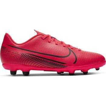 Nike JR VAPOR 13 CLUB FG/MG, otroški nogometni čevlji, rdeča