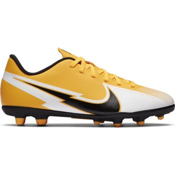Nike JR VAPOR 13 CLUB FG/MG, otroški nogometni čevlji, bela