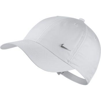 Nike HERITAGE86 ADJUSTABLE HAT, kapa o.fit ščit, bela