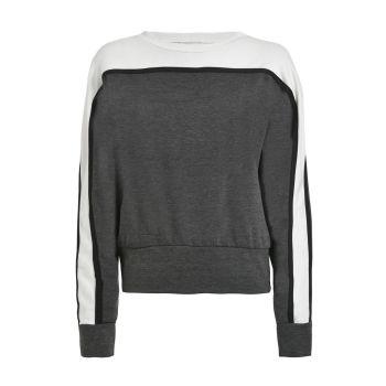 Deha FELPA GIROCOLLO, moški pulover, bela