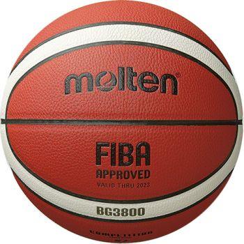 Molten B7G3800, košarkarska žoga, oranžna