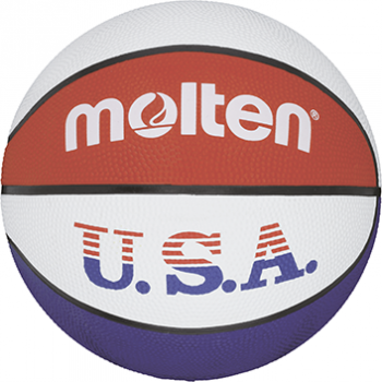 Molten BC5R-USA, košarkarska žoga, bela