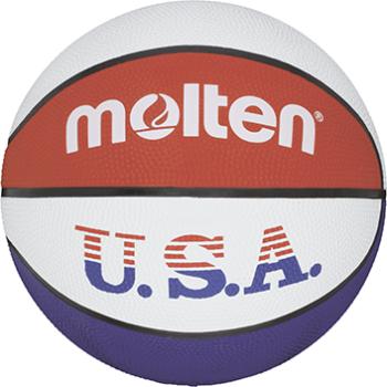 Molten BC6R-USA, košarkarska žoga, bela