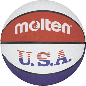 Molten BC7R-USA, košarkarska žoga, bela
