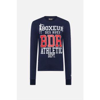 Boxeur LONG T-SHIRT BX, moška majica, modra