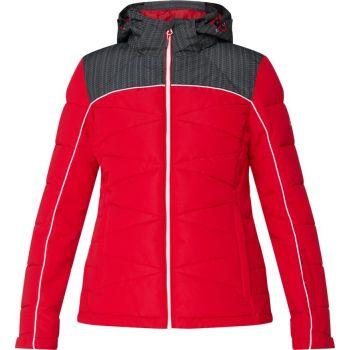 McKinley BIBI II WMS, ženska smučarska jakna, rdeča