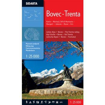 Sidarta BOVEC - TRENTA, zemljevid