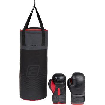 Energetics BOXING SET JUNIOR FT, boksarska vreča, črna