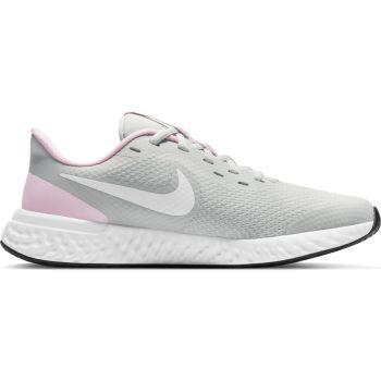 Nike REVOLUTION 5 (GS), otroški tekaški copati, siva