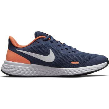 Nike REVOLUTION 5 (GS), otroški tekaški copati, modra