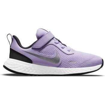 Nike REVOLUTION 5 (PSV), otroški tekaški copati, vijolična