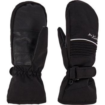 McKinley BRENNA MIT WMS, ženske smučarske rokavice, črna