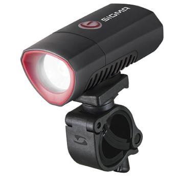 Sigma BUSTER 300 USB FRONT POWERLIGHT, kolesarska svetilka, črna