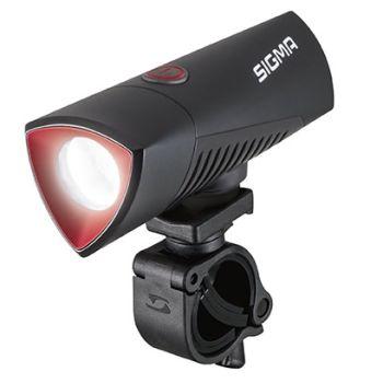 Sigma BUSTER 700 USB FRONT POWERLIGHT, kolesarska svetilka, črna