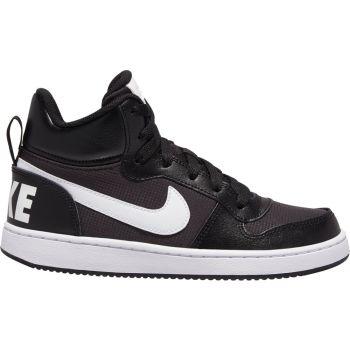 Nike COURT BOROUGH MID PE (GS), otroški športni copati, črna