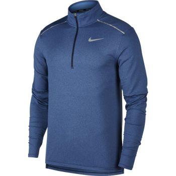 Nike M NK ELMNT TOP HZ 3.0, puli m.tek zip, modra