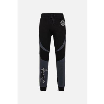 Boxeur INTERLOCK PANTS ERGONOMIC CUTS, moške hlače, črna