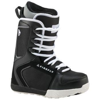 Firefly C30 JR, otroški snowboard čevlji, črna