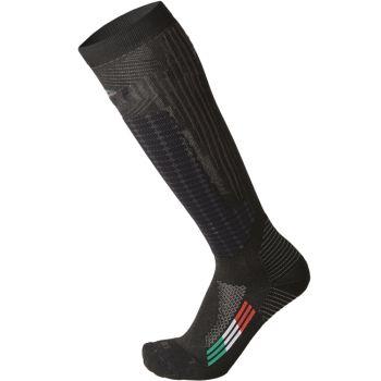 Mico M1 WINTER PRO SKI SOCKS, moške smučarske nogavice, črna