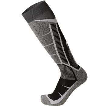 Mico MERDIUM WEIGHT PERFORMANCE SKI SOCKS, moške smučarske nogavice, črna