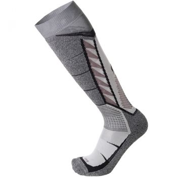 Mico MERDIUM WEIGHT PERFORMANCE SKI SOCKS, moške smučarske nogavice, siva