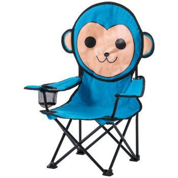 McKinley CAMP CHAIR KIDS, stol, modra