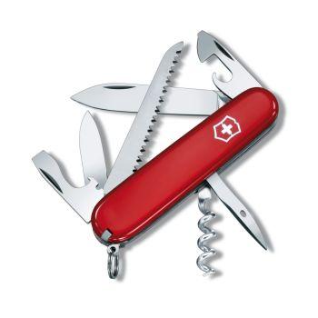 Victorinox CAMPER, nož, rdeča