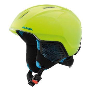 Alpina CARAT LX, otroška smučarska čelada, rumena