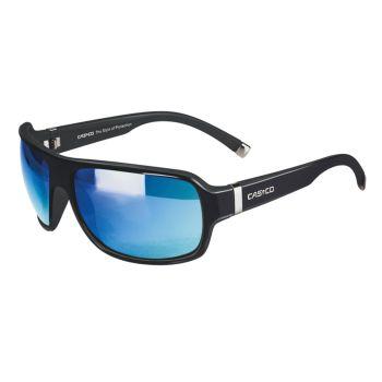 Casco SX-61 BICOLOR, očala, črna