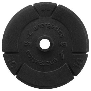 Energetics CAST IRON DISC PCE 30 MM, disk utež iron, črna