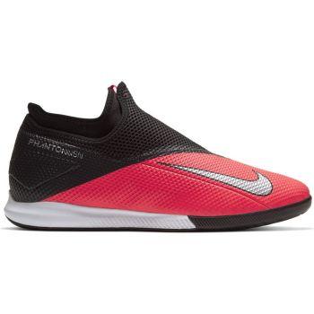 Nike PHANTOM VSN 2 ACADEMY DF IC, moški dvoranski nogometni copati, rdeča