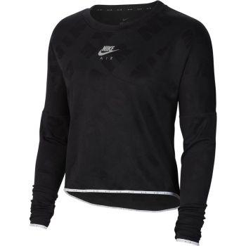 Nike W NK AIR MIDLAYER CREW, pulover, črna