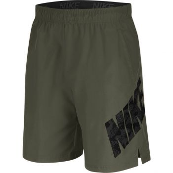 Nike M NK FLX 2.0 CMO, moške fitnes hlače, zelena