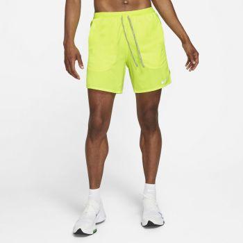 Nike FLEX STRIDE BRIEF RUNNING SHORTS, moške kratke tekaške hlače, rumena