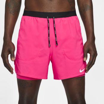 "Nike FLEX STRIDE 5"" 2-IN-1 RUNNING SHORTS, moške kratke tekaške hlače, roza"