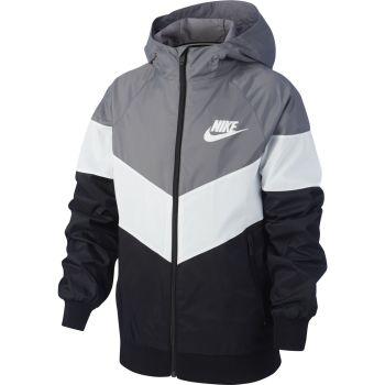 Nike SPORTSWEAR WINDRUNNER JACKET, jakna o.fit, siva
