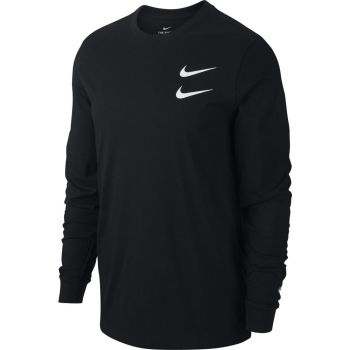Nike M NSW SWSH LS TEE, maja m., črna